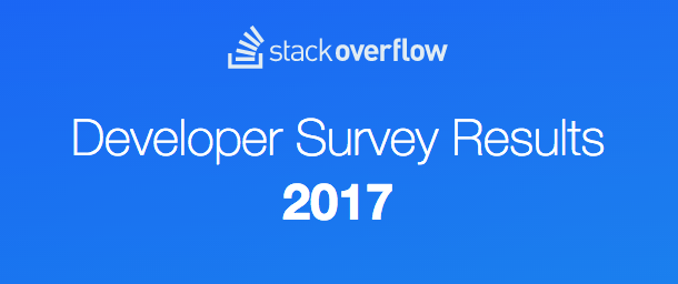 Image for Top 3 trends from StackOverflow's annual developer survey