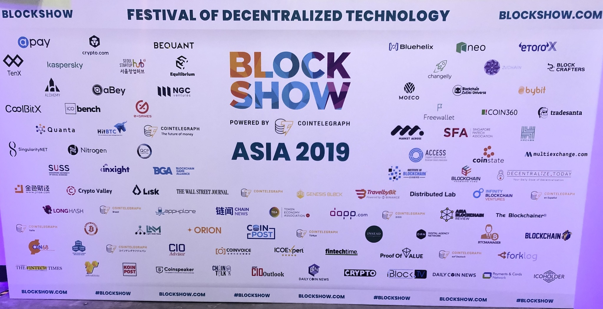 Image for Blockchain Singapore 2019