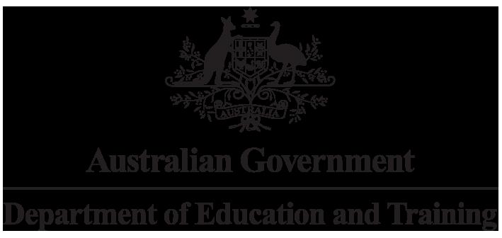 Dept. Education and Training logo